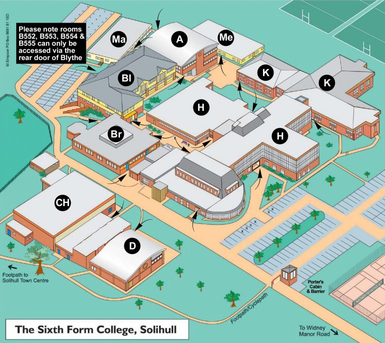 Campus Plan - The Sixth Form College - Solihull — The Sixth Form ...