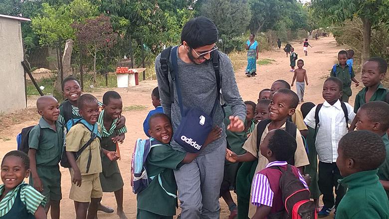 Ibrahim Rashid in Zimbabwe