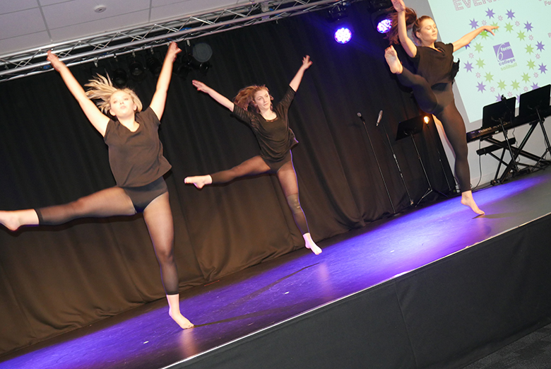 Dance performance at Awards Evening