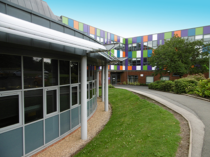 Solihull Sixth Form College campus