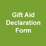 Gift Aid Declaration Form