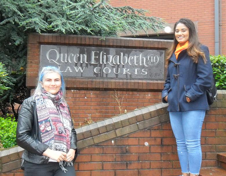Law Courts visit