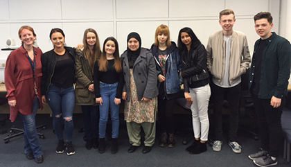 Psychology visit to the University of Warwick