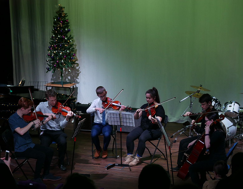 String Ensemble perform