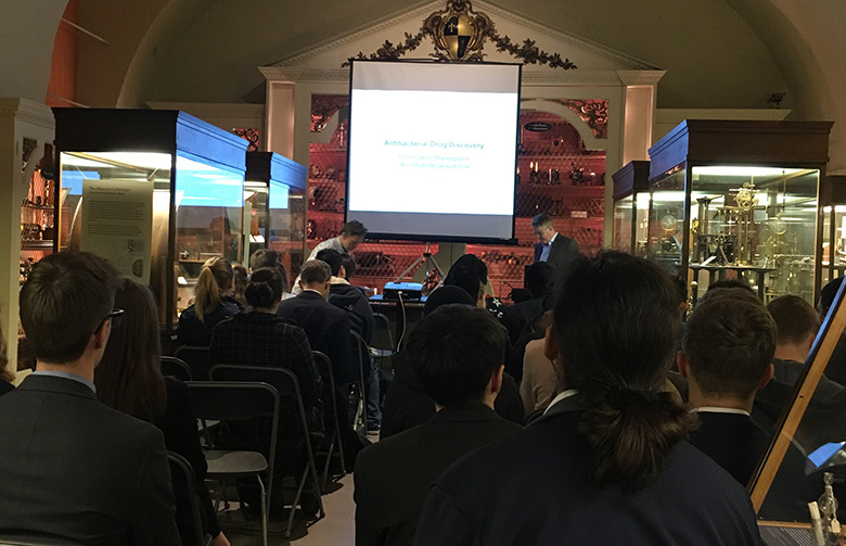 Presentation at Oxford Science Museum