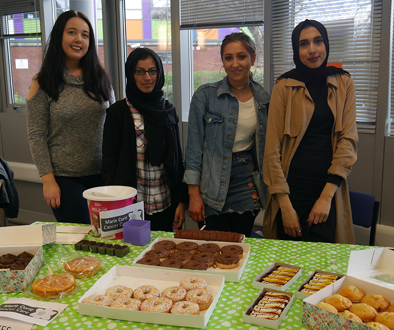 Bake sale for charity