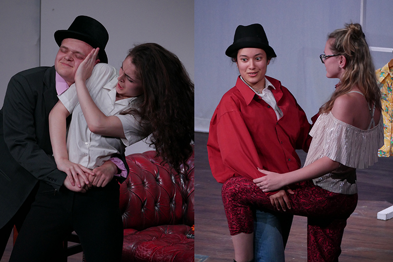 Drama students perform 'The Taming of The Shrew' and 'The Comedy of Errors'
