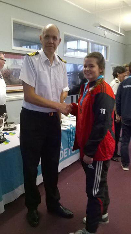 Sea Cadet Abigail Seaton