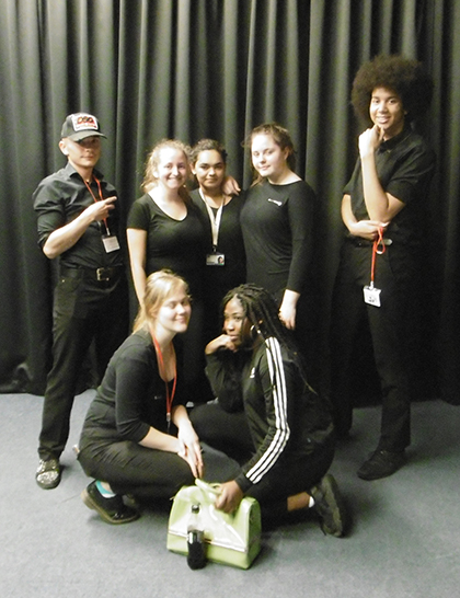 Blackout Cast