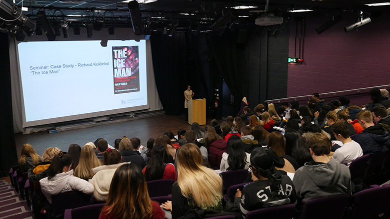 BCU Criminology lecture at Solihull Sixth Form College