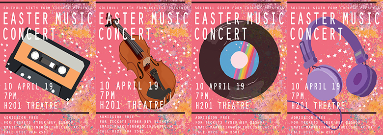 Easter Concert posters