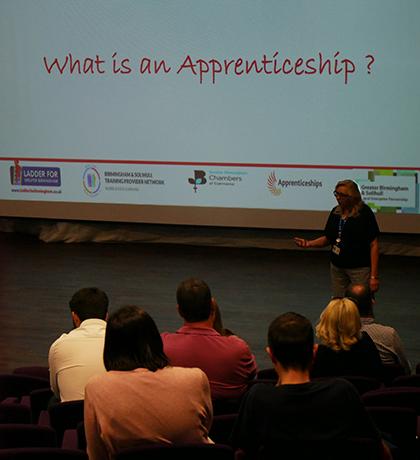 Apprenticeships talk