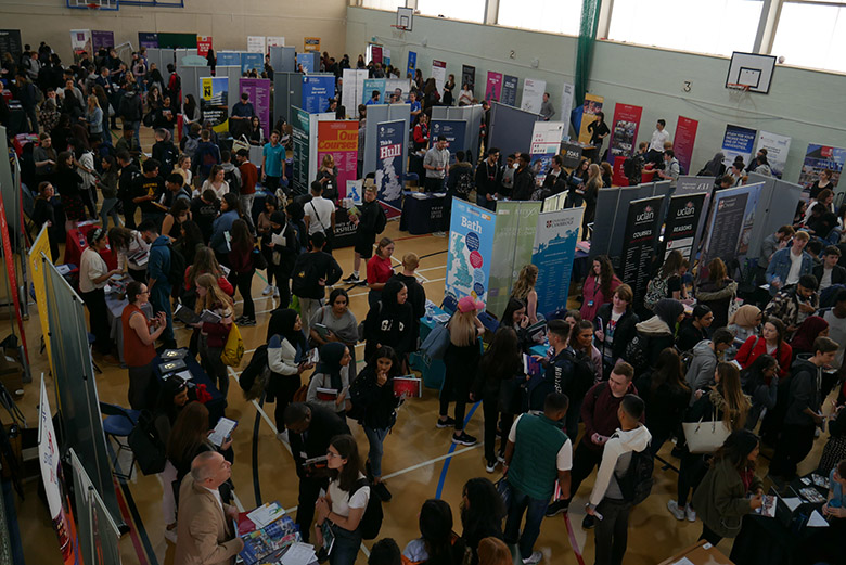 Higher Education & Higher Apprenticeship Fair 2019