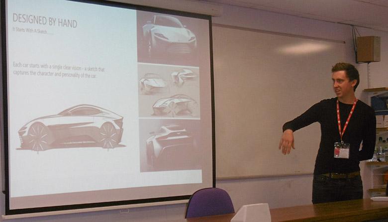 Aston Martin talk