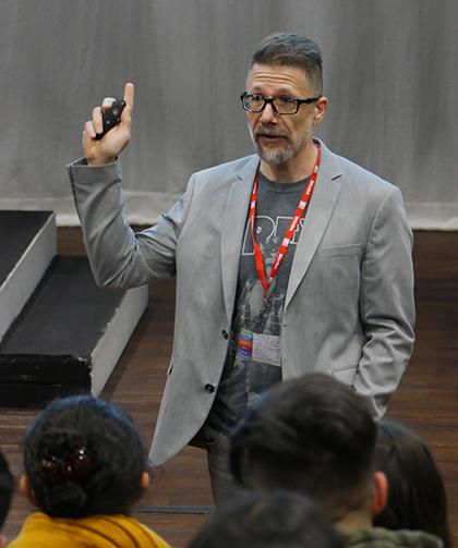 Professor Richard Marggraf Turley